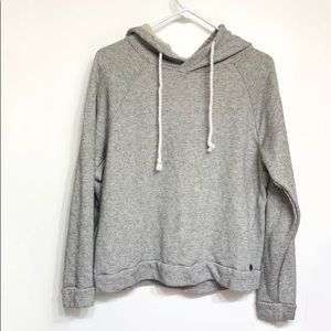 O'neill grey and black striped hoodie swea…